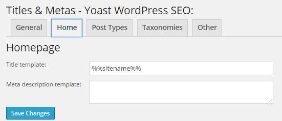 yoast-home-page-meta-setting